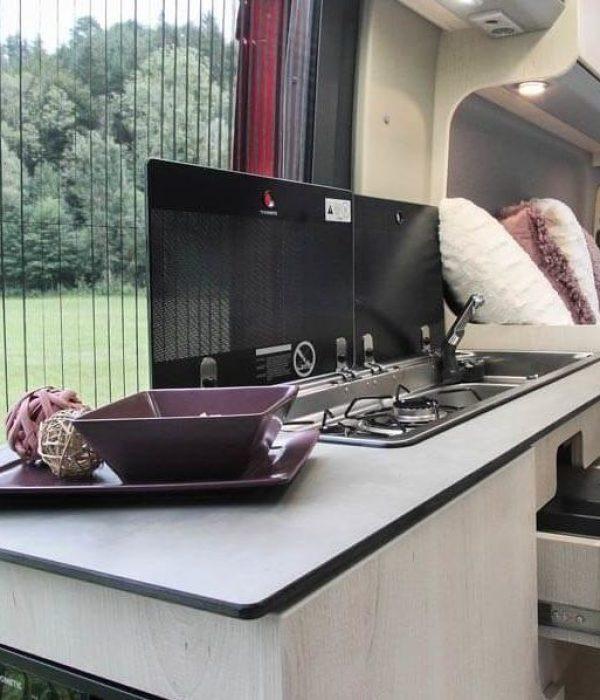 Küche im Clever Tour